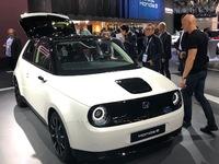Honda e : les premières images en direct du salon de Francfort 2019
