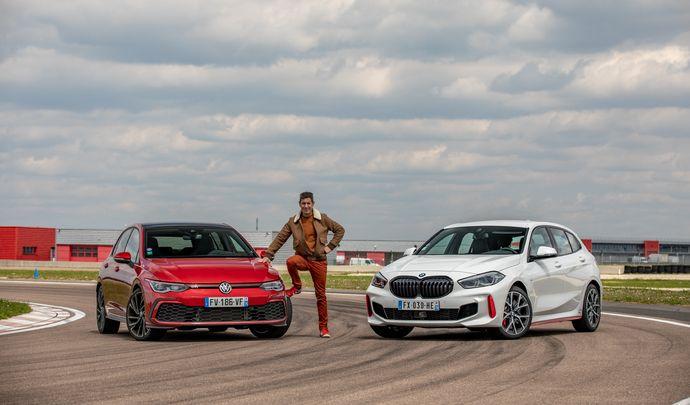 Comparatif vidéo - Les essais de Soheil Ayari - BMW 128 ti VS Volkswagen Golf GTI : duel d'appellation