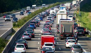 Dans les bouchons, 8 conducteurs sur 10 perdent patience au bout de 30 minutes