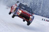 WRC-Norvège: Loeb n'a pas froid aux yeux !