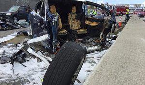 Accident mortel Tesla: le conducteur mis en cause