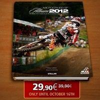 Livre : le Motocross GP Album 2012 se dévoile