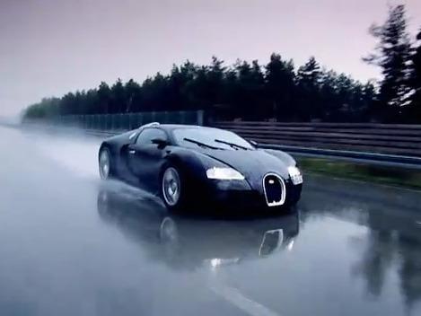 Bugatti Veyron Super Sport : Top Gear y est pour quelque chose