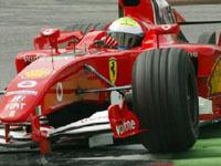 La Ferrari F2004 V10 toujours en tête à Bahreïn