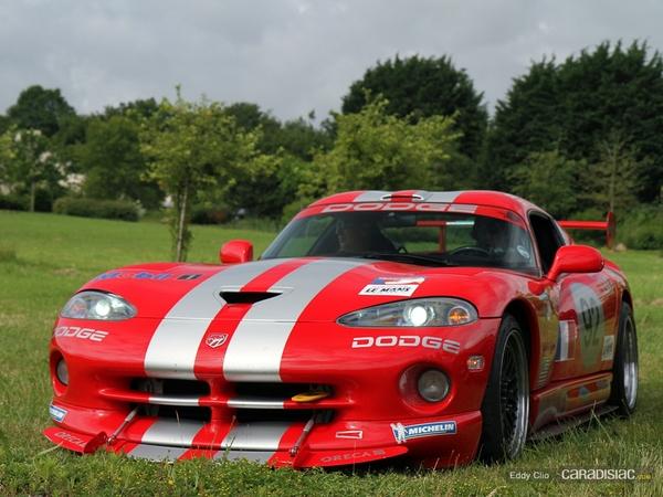 Photos du jour : Dodge Viper GTS R (Le Mans)