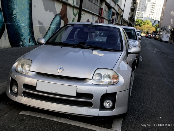 Photos du jour : Renault Clio V6 Ph.1