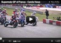 Supermotard, championnat du Monde 2012 GP de France: la vidéo