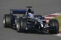 La WilliamsF1 courre devant à Valence