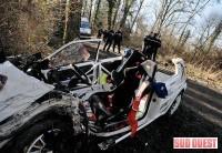 Rallye: Un accident en Dordogne fait 4 blessés.