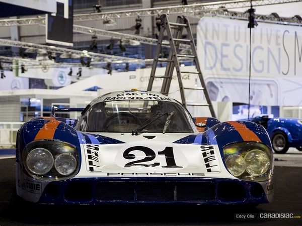 Photos du jour : Porsche 917 (Retromobile)