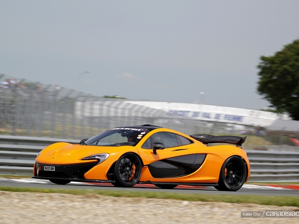 Photos du jour : McLaren P1 (Sport & Collection)