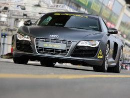 L'Audi R8 E-Tron se lance ( prudemment ) dans le bain de la compétition