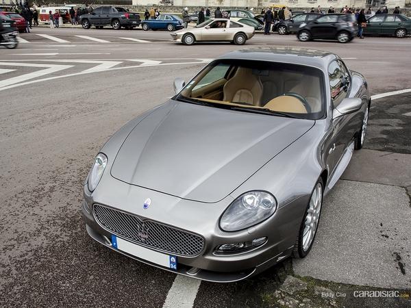 Photos du jour : Maserati GranSport V8 (Vincennes en Anciennes)