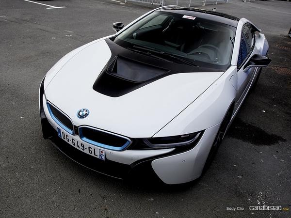 Photos du jour : BMW I8 (Exclusive Drive)