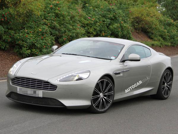 La nouvelle Aston Martin DB9 se promène toute nue