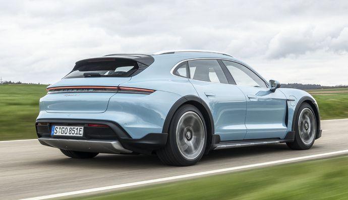 Essai – Porsche Taycan Cross Turismo (2021) : la meilleure des Taycan ?
