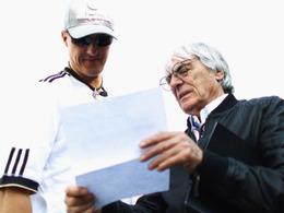 """F1 - Ecclestone : """"Michael Schumacher gagnerait des courses avec une Red Bull"""""""