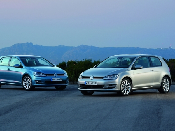 Volkswagen lance les Up!, Golf, Touran et Tiguan Cup