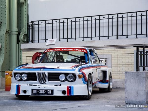 Photos du jour : BMW 3.0 CSL (Tour Auto)