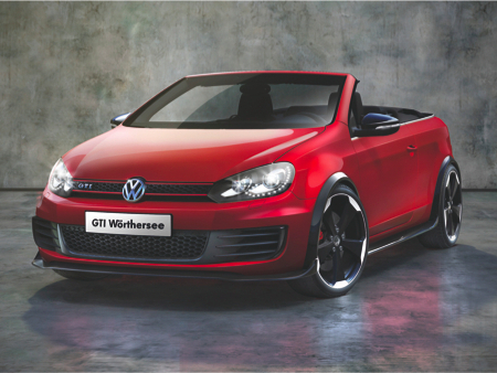 Wörthersee Tour 2011 : VW Golf GTi Cabriolet Concept