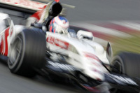 Honda Racing F1 en termine à Bahreïn