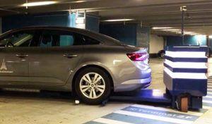 Vidéo: le robot Stan gare voiture à Roissy Charles de Gaulle