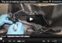 LeoVince: naissance d'une pièce en carbone (vidéo)