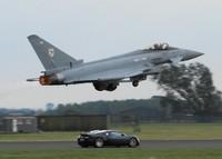 Bugatti Veyron versus Eurofighter Typhoon