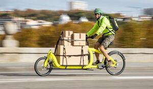 En ville, le gouvernement veut voir des vélos à place des camionnettes