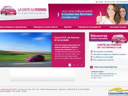 L'Automobile Club lance « La Carte Au Féminin »