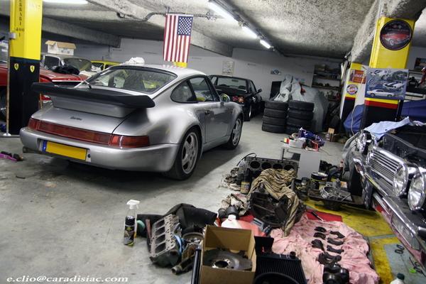 Photos du jour : Porsche Turbo