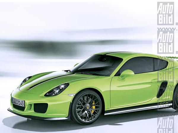 Futures Porsche Cayman GTS: rendez-vous au printemps