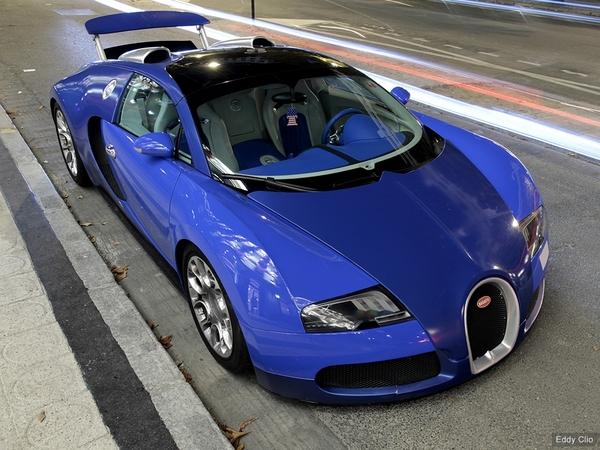 Photos du jour : Bugatti Veyron Grand Sport