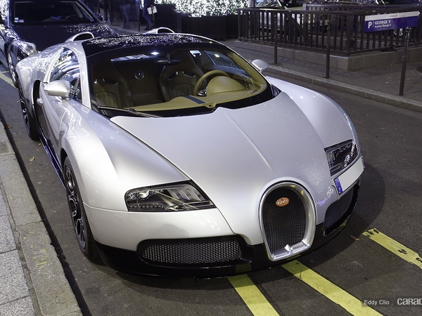 Photos du jour : Bugatti Veyron GrandSport