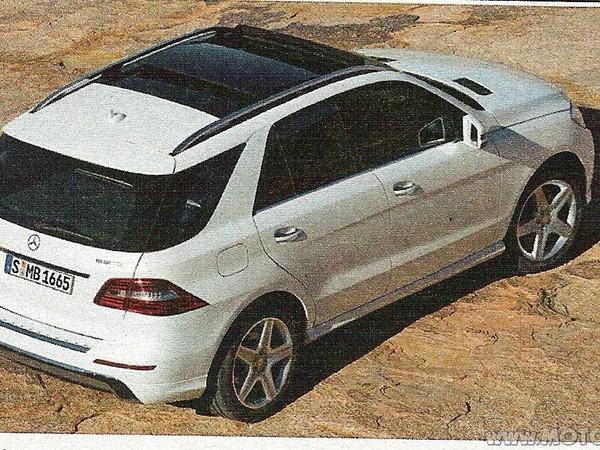 Nouveau Mercedes ML : en photo sans camouflage