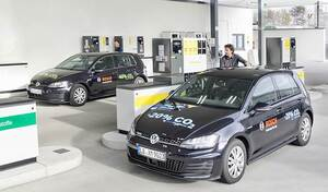 """Shell, Bosch et VW lancent le """"Blue"""" sans-plomb"""