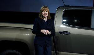 La patronne de General Motors reste la mieux payée de l'automobile