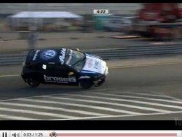 [vidéo] en VW Scirocco Cup, le 2 roues, ça marche moyen