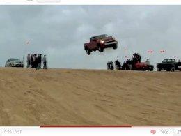 [vidéo] Un Chevy Silverado, un bourrin, une belle photo et une dépanneuse à appeler