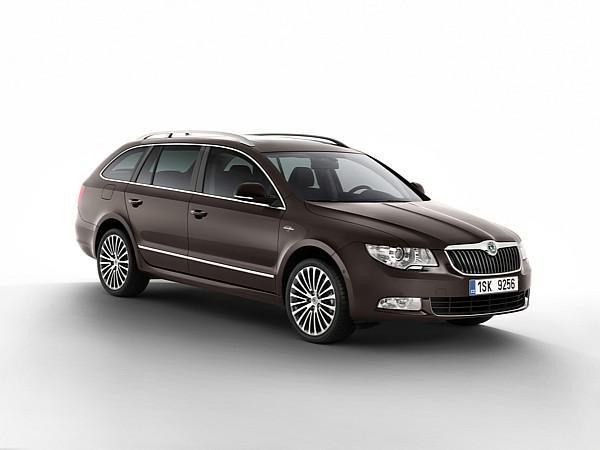 skoda superb combi laurin klement luxe tch que. Black Bedroom Furniture Sets. Home Design Ideas