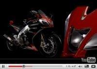 Vidéos moto : L'Aprilia RSV4 Factory sous toutes les coutures