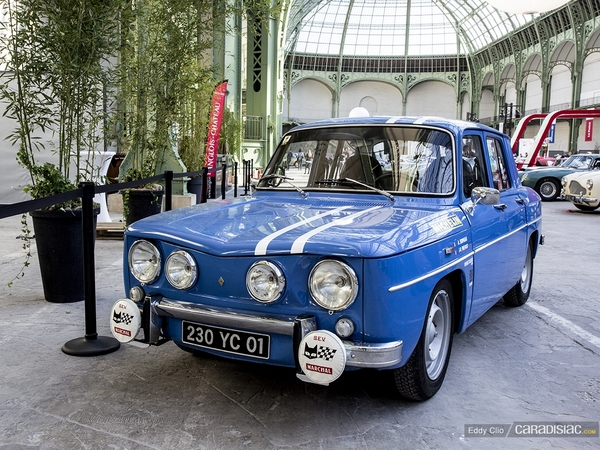 photos du jour renault 8 gordini tour auto. Black Bedroom Furniture Sets. Home Design Ideas