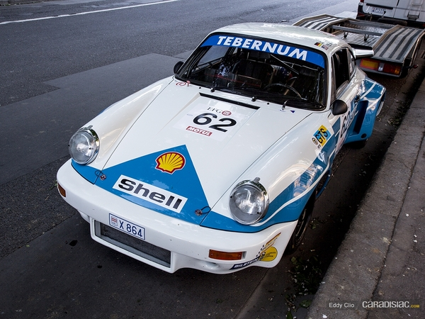 Photos du jour : Porsche 911 RSR (Tour Auto)