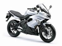Nouveauté Kawasaki 2010 : Nouvelles teintes pour les Kawasaki Er-6n et f