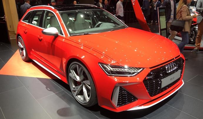 Audi RS6 Avant 2019 : 600 ch ! - Vidéo en direct du salon de Francfort 2019