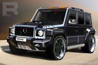 RENNtech G Wagen CDI Concept: le grand méchant look