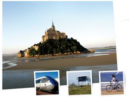 Tourisme / baie du Mont-Saint-Michel : une offre de transport public alternative