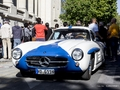 Photos du jour : Mercedes 300 SL (Tour Auto)
