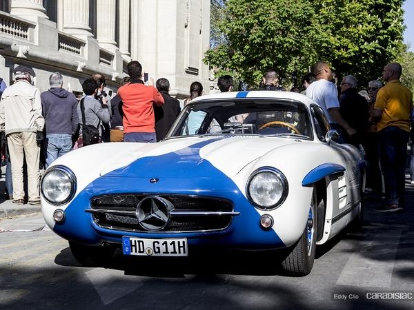 Photos du jour : Mercedes 300 SL (Tour Auto)