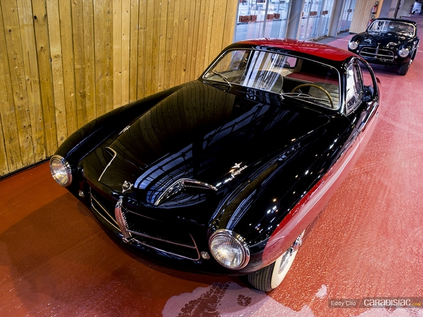 Photos du jour : Pegaso Z-102 Touring Superleggera Thrill (Retromobile)